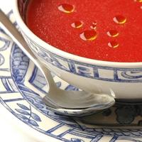 Tomato and watermelon soup by Ferrán Adriá