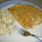 Garlic Cheddar Chicken for Two