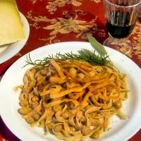 Ciceri e Tria - Chick Pea Pasta with a Crunch