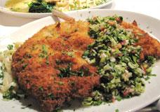 Niman Ranch Pork Chop Milanese