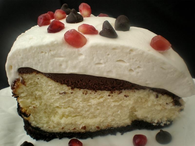 PAMA Chocolate Ganache Cheesecake