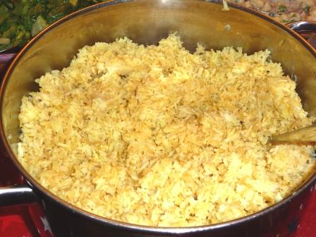 Balinese Special Rice - Nasi Kuning