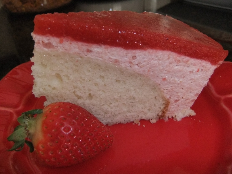 bavarian cream cake strawberry bavarian cake with strawberry mirror 1530