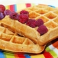 Molasses Cookie Waffles