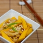 Stir-fried Chicken with Mango and Roasted Almonds