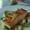 Crispy Halibut with Zucchini Ribbons and Lemony Basil sauce