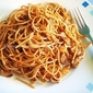 Spaghetti With Tomatoes & Mushrooms