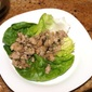 Fresh Lettuce wraps with chicken - San choy bau