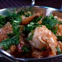 Quick South Indian Shrimp Dish