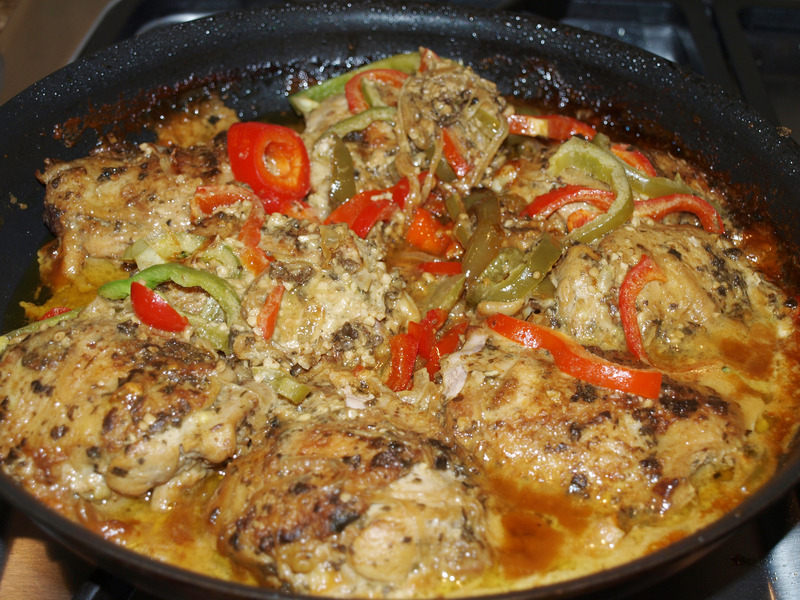 Chicken Braised in Coconut Milk Recipe by Kristin - CookEatShare