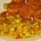 Corn Maque Choux with Emeril's Creole Seasoning - Meatless Mondays