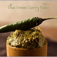 Thai Green Curry Paste, home made