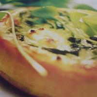 French Cuisine: Tartelettes Cressonieres au Chevre/Cress & Goat Cheese Tarts