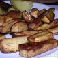 Roasted balsamic & rosemary parsnips