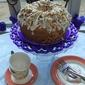 Almond Crunch & Chocolate Confetti Chiffon Cake