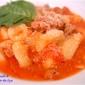 Sardinian Pasta Dinner, influenced by Lidia Bastianich. I feel like an Honorary Italian, because I made my own pasta!