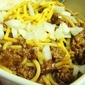 Skillet Cincinnati Chili with Spaghetti