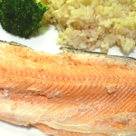 Simple pan fried trout