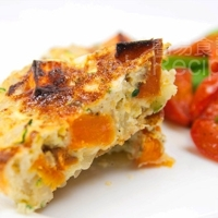 Zucchini & Sweet Potato Frittata