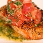 Herb Crusted Salmon with Pistou