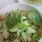 Vegan French Cuisine: Quinoa, Green Vegetables & Vanilla