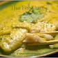 Thai Fish Curry or Kaeng Khieu Wan Pla
