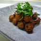 Japanese Cuisine: Deep-fried Meat Balls