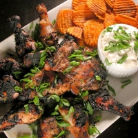 Bob Marley's Chargrilled-Jerk Chicken with Creamy Cucumber Dipping Sauce