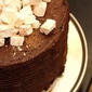 Hot Chocolate Birthday Cake