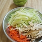 Stir-Fry Chayote with Fresh Black Fungus