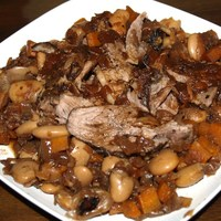 Braised Lamb with Beans