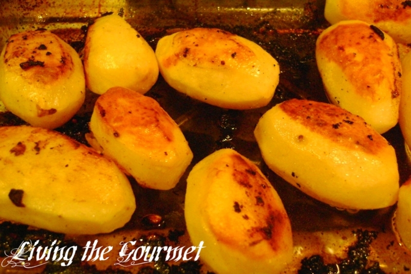 ... oven browned potatoes oven roasted crispy herb roasted potatoes fork