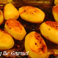 Golden Oven Roasted Potatoes
