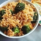Broccoli Pulao With Vangibhath Powder
