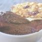 French Dessert: Mousse Chocolat Cafe et Tuile Orange Cafe Chocolat