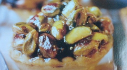 Greek Dessert: Figs & Pistachio Tarts