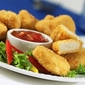 DELICIOUS CHICKEN NUGGETS WITH SALSA DIP