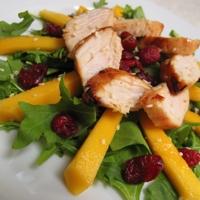 Orange Chicken and Mango Salad