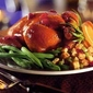 Cornish Game Hens with Amaretto Stuffing and Honey Glaze