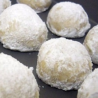 Italian Snowball Cookies