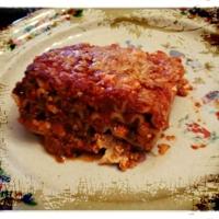 East Meets West Lasagna