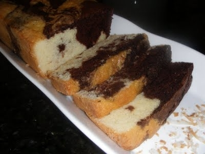 Rum-Scented Marble Cake Recipe by Joann - CookEatShare