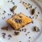 Pistachio Baklava with Orange-Cardamom Syrup and Dried Lavender