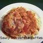 Saucy Mozzarella Patties