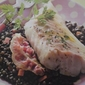 French Cuisine: Young Cod and Lentils