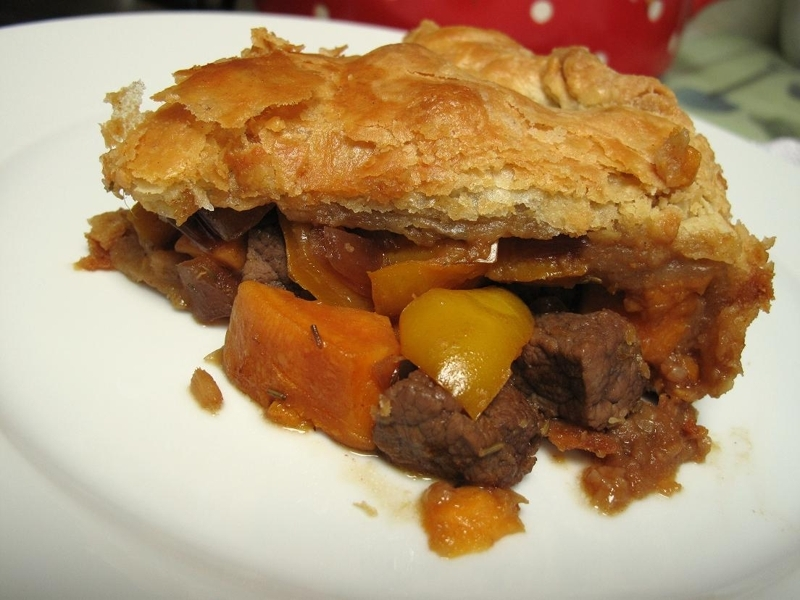 Steak and Sweet Potato Pie Recipe by Jenny - CookEatShare