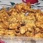 Pakodas with Salt Crackers
