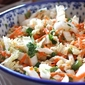 Spicy Asian Slaw Recipe with Napa Cabbage, Carrots & Ginger Dressing