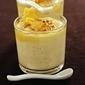 アスパラガスとチェダーチーズのクリームブリュレ