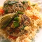 Kurdish Meatballs with Swiss Chard